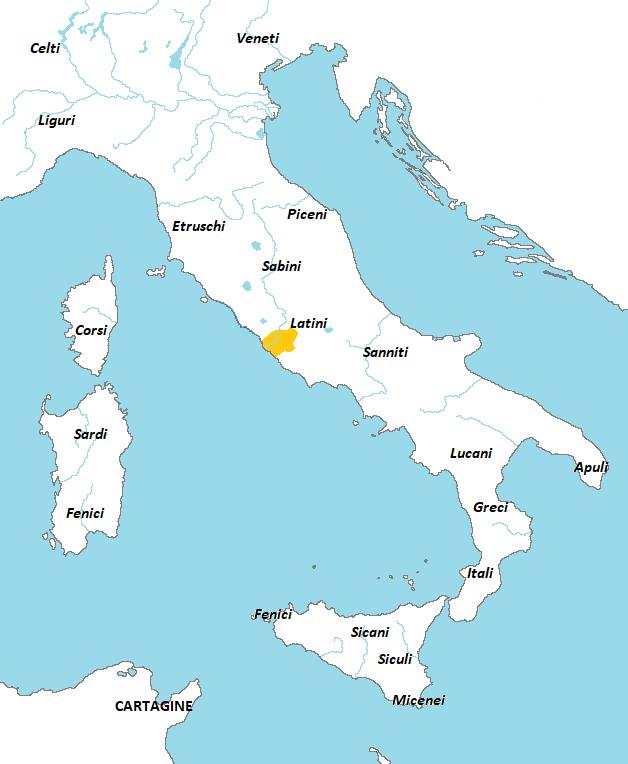 Cartina Dell Italia Al Tempo Degli Etruschi.Storia Di Roma Dalle Origini All Impero Scuola Media Digitale