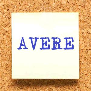 coniugazione del verbo avere