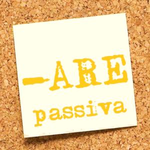 prima coniugazione passiva