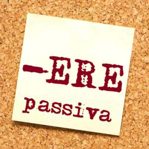 seconda coniugazione passiva