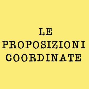 proposizione coordinata