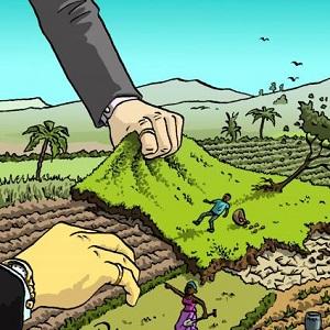 land-grabbing