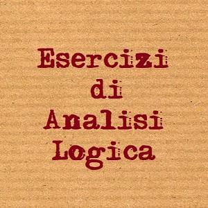 frasi di analisi logica