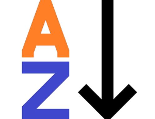 Ordine alfabetico: lettera E