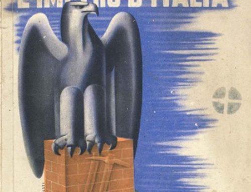 """Testo unico di quinta elementare: """"L'Impero d'Italia"""""""